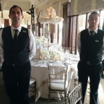 banquet servers at one of our events